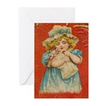 Blank Victorian Greeting Cards (10 w envelopes)