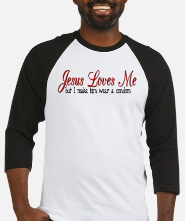 Jesus Loves Me Baseball Jersey