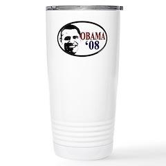 Obama for President Stainless Steel Travel Mug