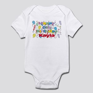 Kayla's 6th Birthday Infant Bodysuit