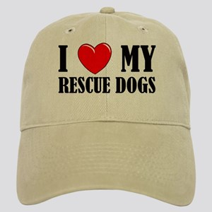 Love My Rescue Dogs Cap