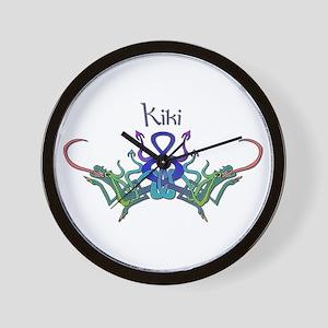 Kiki's Celtic Dragons Name Wall Clock