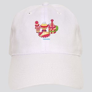 Kawaii Red Pizza Party Cap