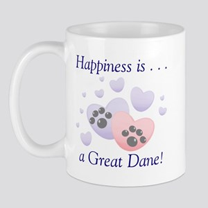 Happiness is...a Great Dane Mug