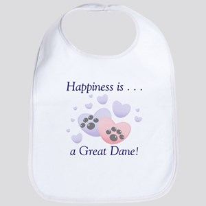 Happiness is...a Great Dane Bib