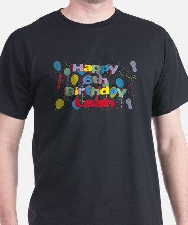 Leah's 6th Birthday T-Shirt