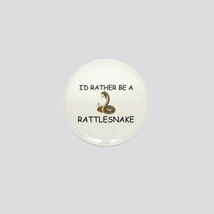 I'd Rather Be A Rattlesnake Mini Button
