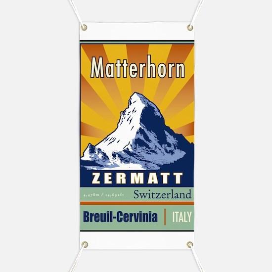 Matterhorn Banner