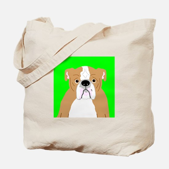 Bully (Tan) Tote Bag