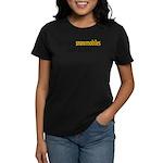 Talking Snowmobiles Women's Dark T-Shirt