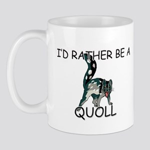 I'd Rather Be A Quoll Mug