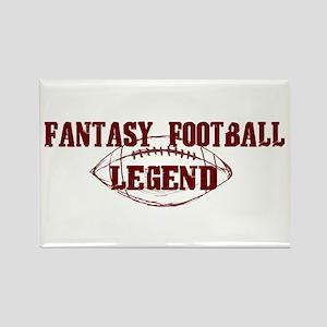 Fantasy Football Legend (new) Rectangle Magnet