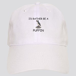 I'd Rather Be A Puffin Cap