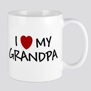 I LOVE MY GRANDPA SHIRT BABY Mug
