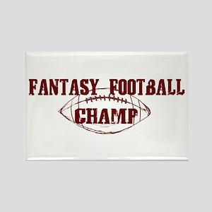 Fantasy Football Champ (new) Rectangle Magnet