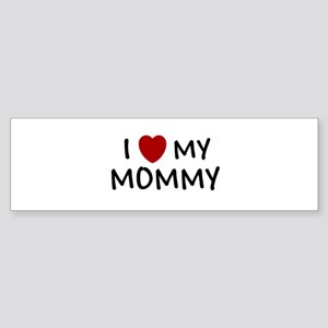 MOTHER'S DAY GIFT I LOVE MY M Bumper Sticker