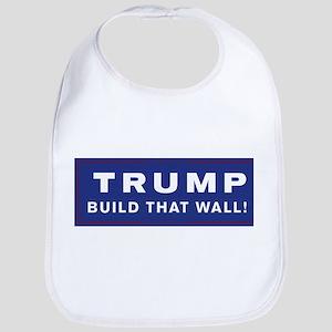Trump is my President Baby Bib