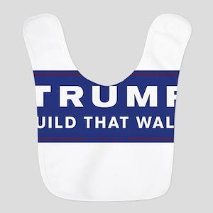 Trump is my President Polyester Baby Bib