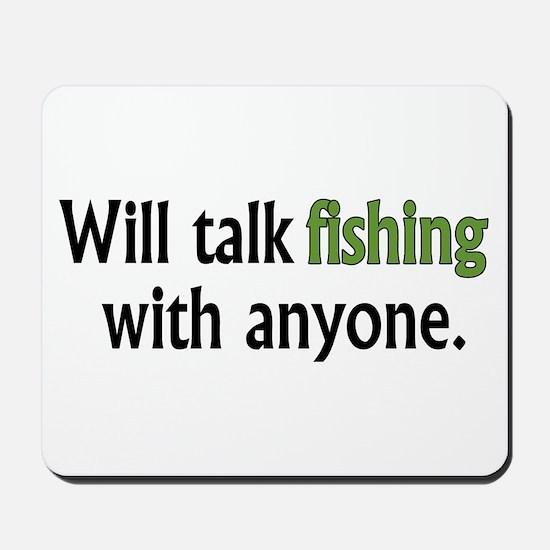 Fishing Talk Mousepad
