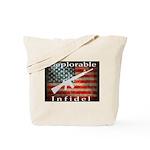 Deplorable Infidel Tote Bag