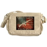 Deplorable Infidel Messenger Bag