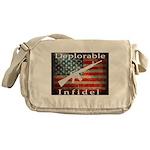Deplorable Infidel Messenger Bag