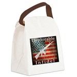 Deplorable Infidel Canvas Lunch Bag