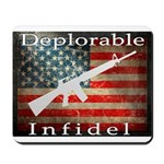Deplorable Infidel Mousepad