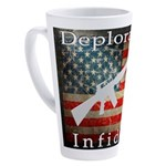 Deplorable Infidel 17 oz Latte Mug