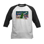 XmasMagic/2 Bullies Kids Baseball Jersey