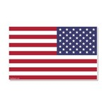 Reversed Giant Flag Car Magnet 20 X 12 --