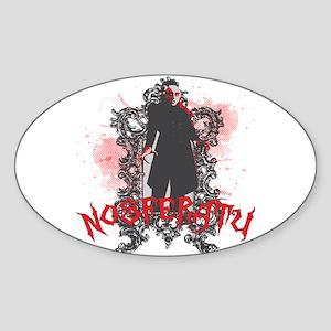 Nosferatu Oval Sticker