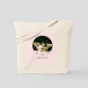 Pink Got Christmas Angel Tote Bag