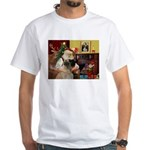 Santa's Bullmastiff #7 White T-Shirt