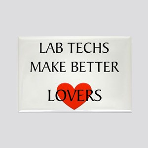 Lab Tech Rectangle Magnet