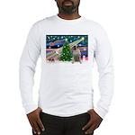 Xmas Magic & Bull Mastiff Long Sleeve T-Shirt