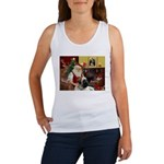 Santa's Bull Mastiff #4 Women's Tank Top