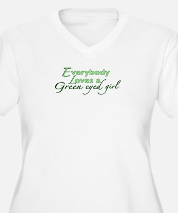 Green Eyed Girl T-Shirt