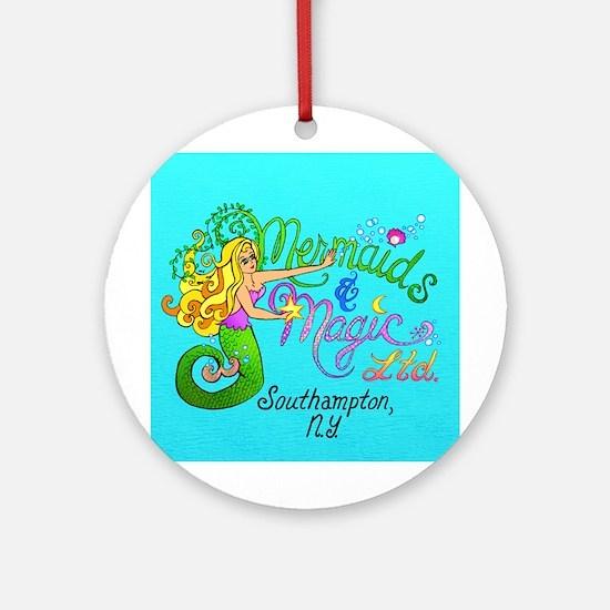 Mermaids & Magic Ornament (Round)