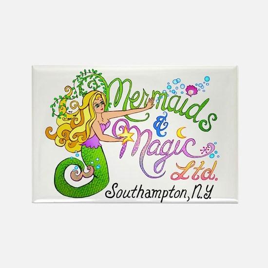 Mermaids & Magic Rectangle Magnet