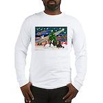 XMAS MAGIC / 3 Cavaliers Long Sleeve T-Shirt