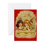 Darling Victorian Greeting Cards (10 w envelopes)