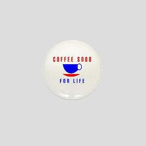 Coffee Snob Mini Button