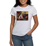 Santa's Chihuahua Women's T-Shirt