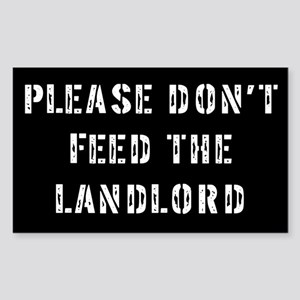 Landlord Rectangle Sticker