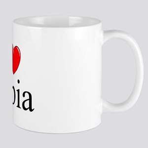 """I Love (Heart) Olbia"" Mug"