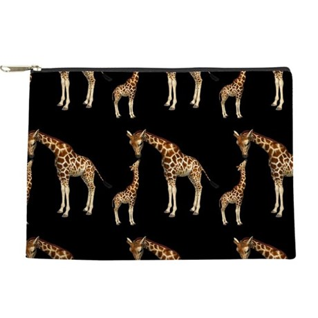 Mother Giraffe and Baby Makeup Bag