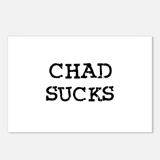 Chad Sucks Postcards (Package of 8)