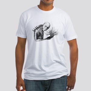 waiting for the swing Fitted T-Shirt