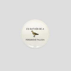 I'd Rather Be A Peregrine Falcon Mini Button